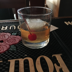 Amaretto Fashioned