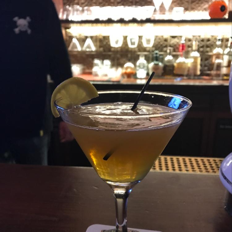 Honey Lemon Martini