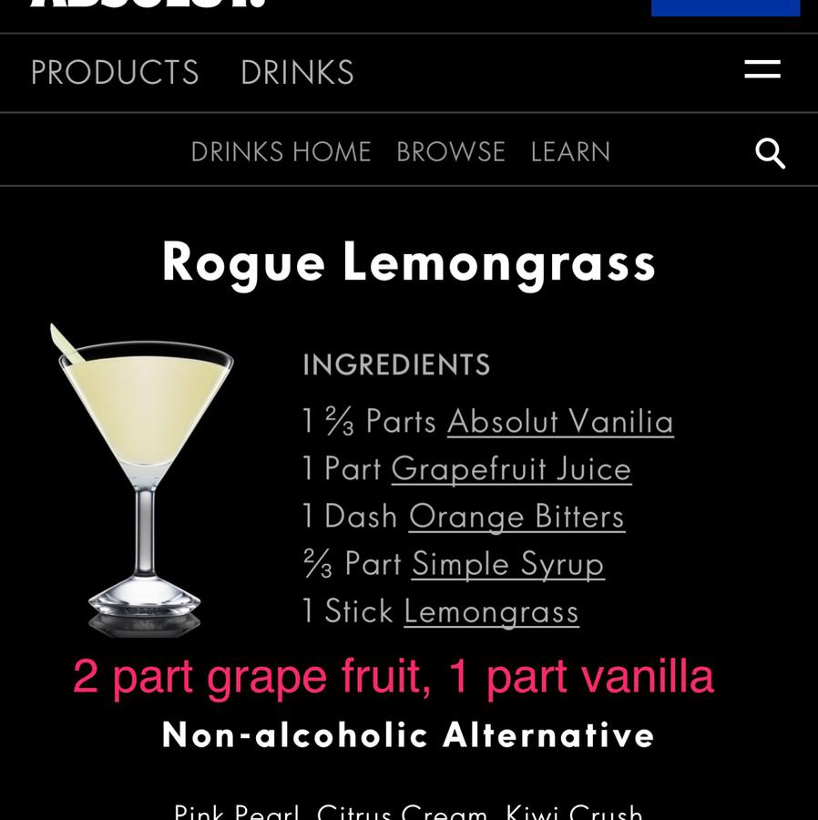 Absolute Vanilla: Rouge Lemongrass