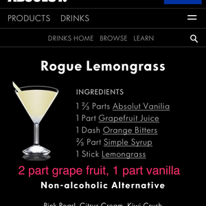 Absolute Vanilla: Rouge Lemongrass