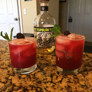 Blackberry Mint Julep Margarita