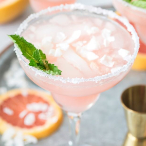 Coconut Grapefruit Margaritas