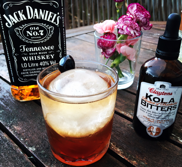 Cherry Cola Old Fashioned
