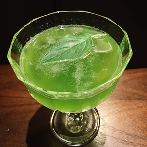 Basil Lemon Martini