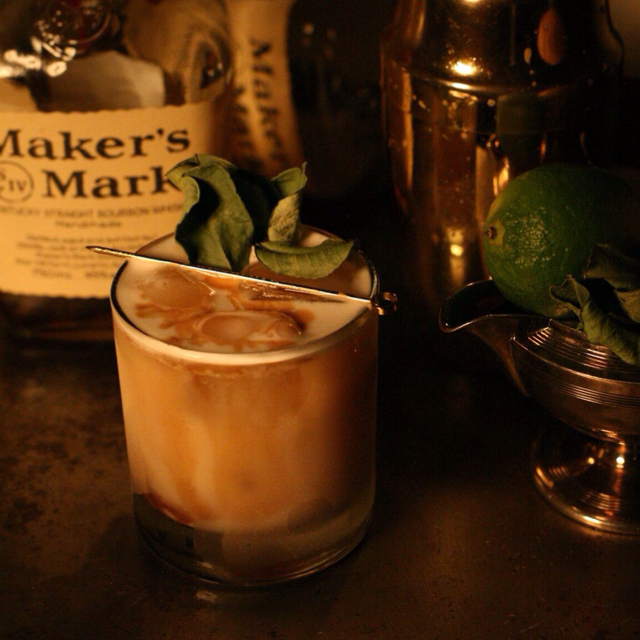 Improved whisky sour