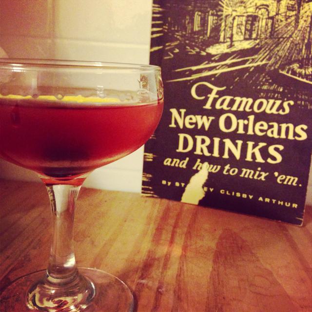 Cocktail à la Louisiane