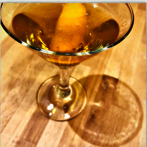 Gin, Clove and Orange