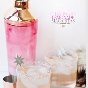 Champagne Lemonade Margarita