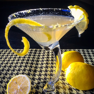 The REAL Lemon Drop Martini