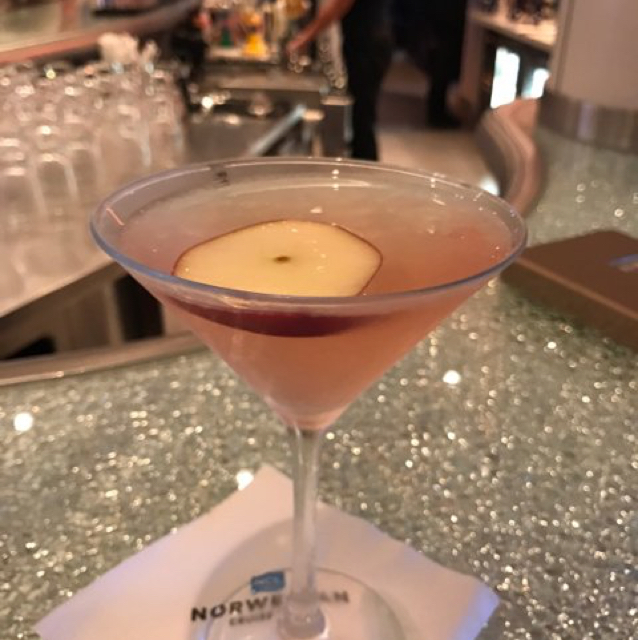 Apple Blossom Martini