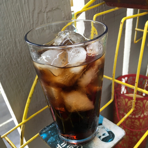 Kirkland Spiced Rum and Coke