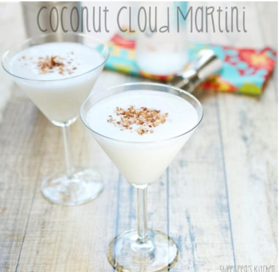 Coconut Cloud Martini