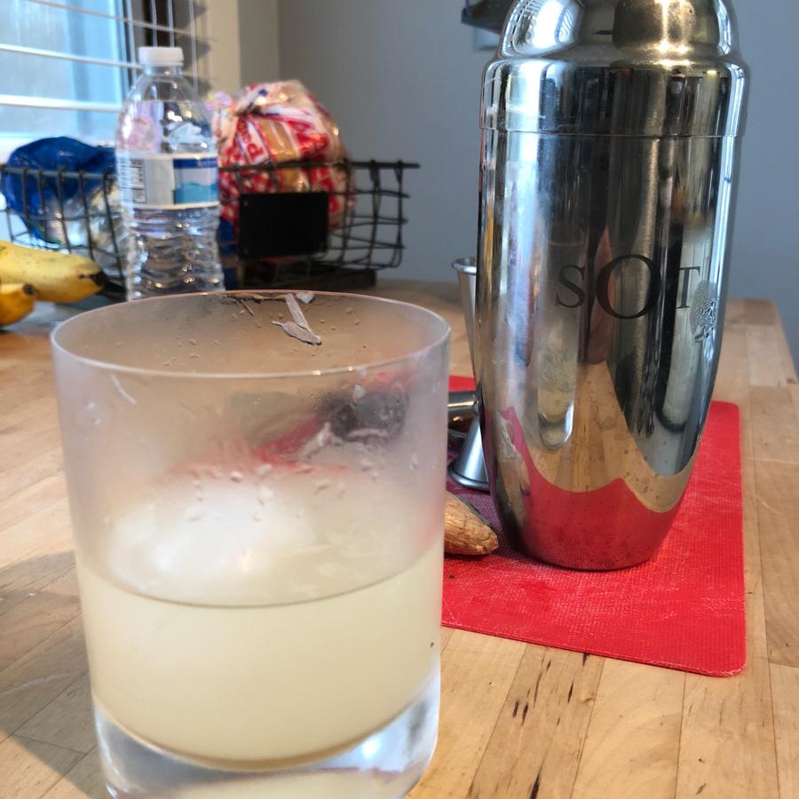 Lemon Ginger Shake-up
