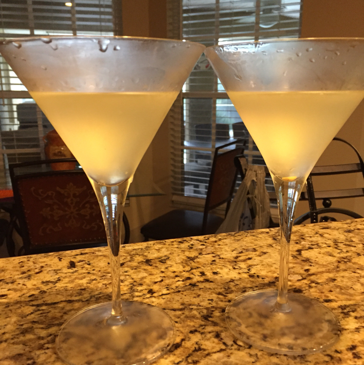 Ginger Martini