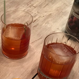 Blood Orange Old Fashioned