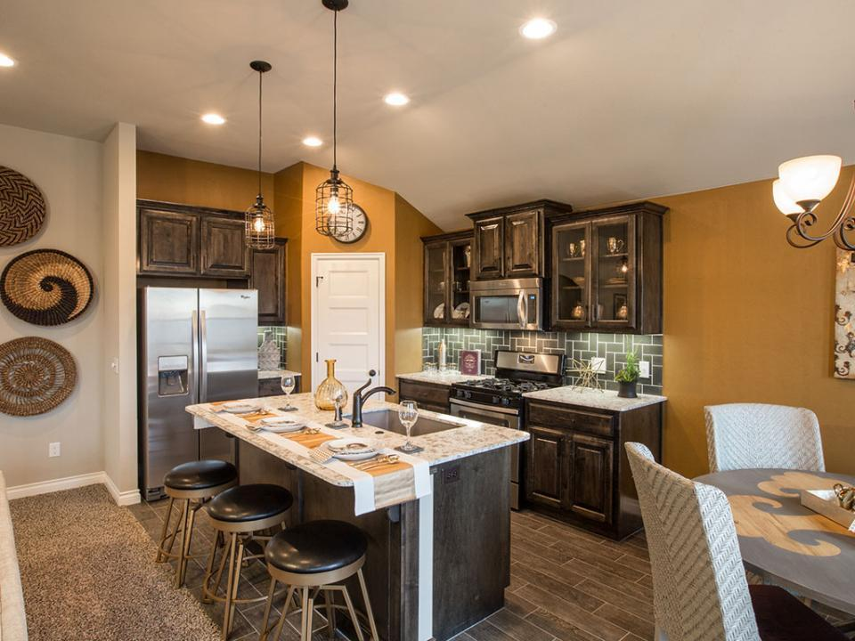 Kitchen Model Homes photo gallery | new homes okc | ideal homes