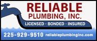 Reliable Plumbing, Inc.
