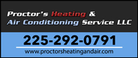 Proctor's Heating & Air Conditioning Service