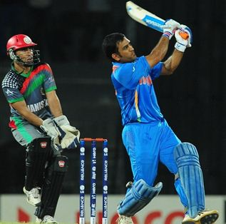 India beat fighting Afghans