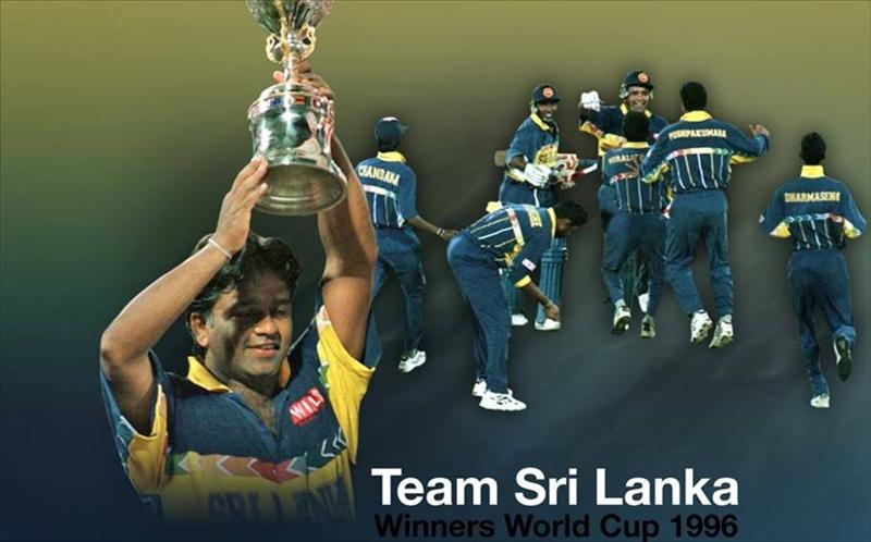 18th anniversary of World Cup win by SL in 1996