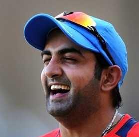 Gautam Gambhir remained unbeaten