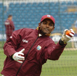 Ramdin fined 20 per cent of match fee for Richards Gripe