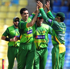 a comfortable win for Pakistan