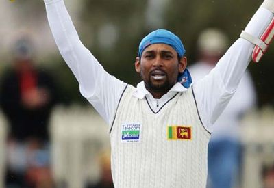 Dilshan's first century in Austrailia