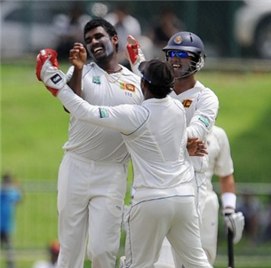Perera gives Sri Lanka control