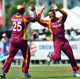 Gayle and Powell collapse New Zealand