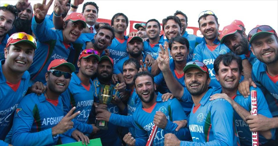 Afghans in a stunning series win over Zimbabwe