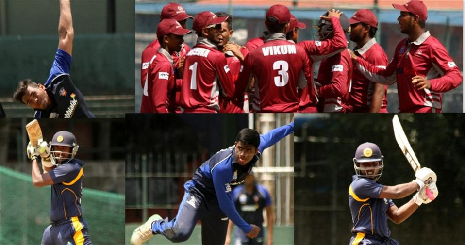 Akeel, Umar and Lahiru stars in day 3 of U23 matches