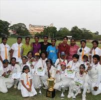 All set for the U19 girls cricket tournament
