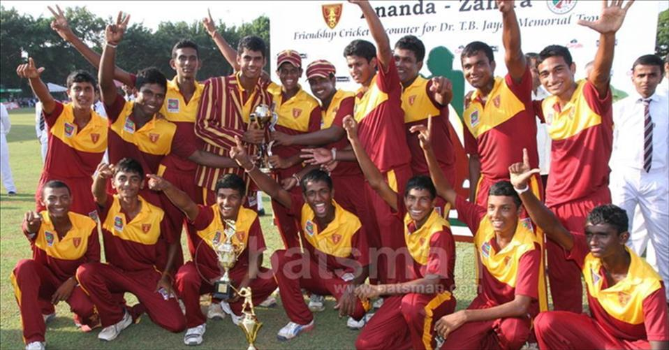 Ananda clinch TB Jayah trophy