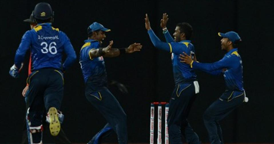 Aponso strikes as Lanka level series