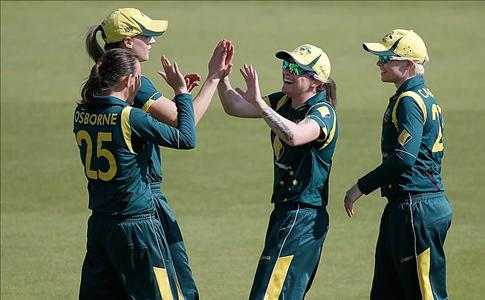 Aus Women win the 1st ODI