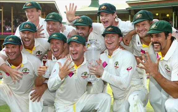 Aussies clean sweep England in the Ashes