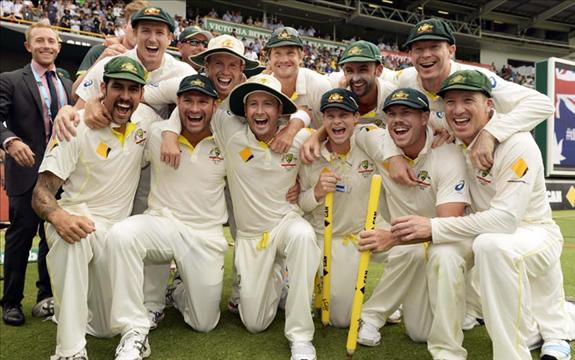 Aussies reclaim the Ashes lost in 2009