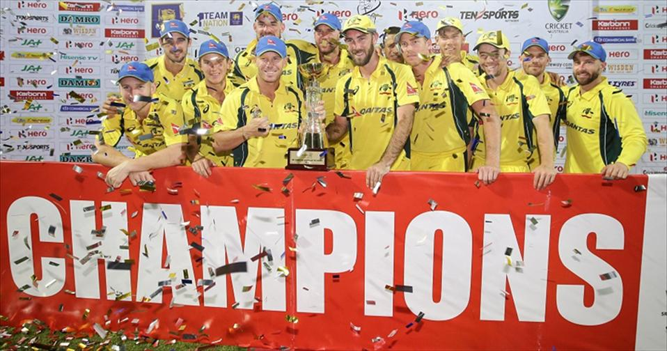 Aussies seal T20 Series as Maxwell spoils Dilshans Farewell
