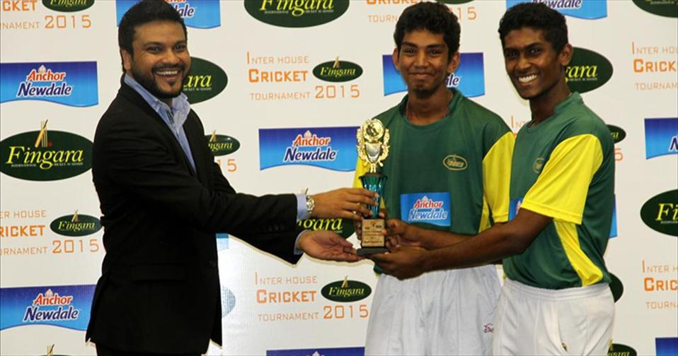 Award presentation – Fingara Cricket Tourney