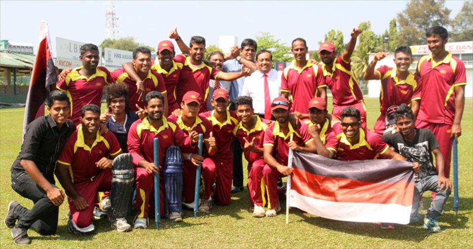 BRC crowned Emerging T20 Champions 2015/16