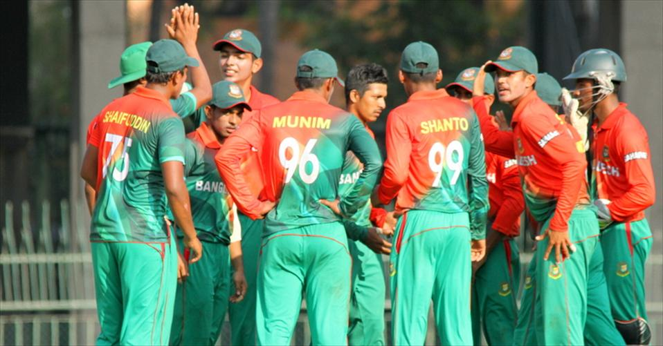 Bangladesh U19 keep the series alive