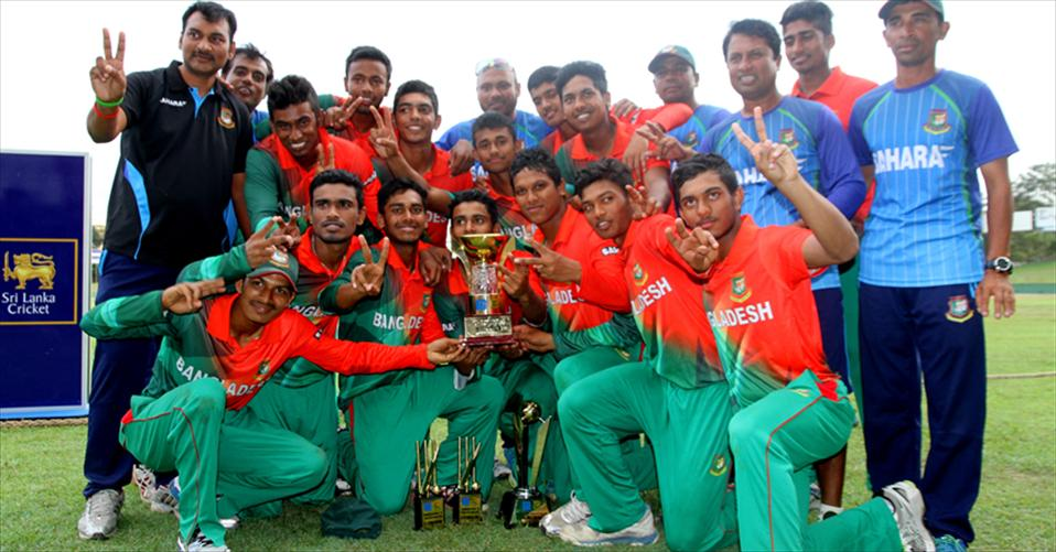 Bangladesh U19 rebound to win the series 3-2