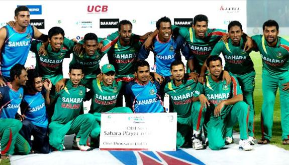 Bangladesh in a dramatic series win; 3-0