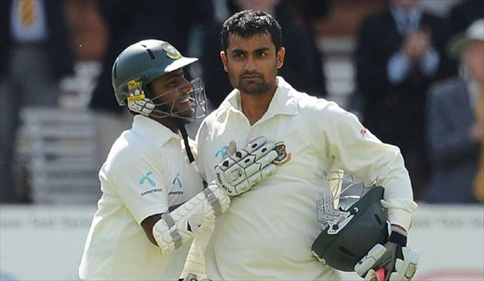 Bangladesh openers in a record breaking stand