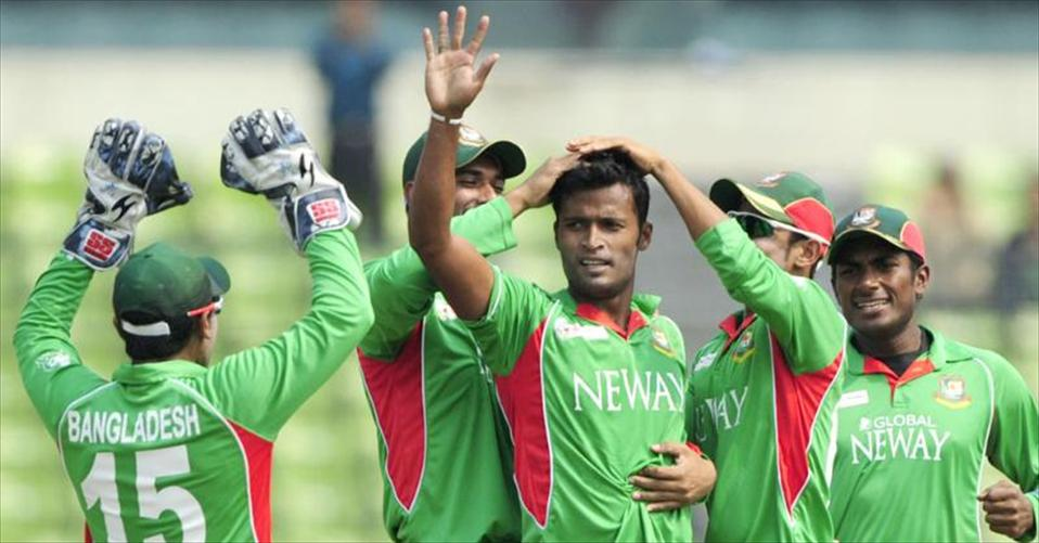 Bangladeshi cricketers in yet another triumph