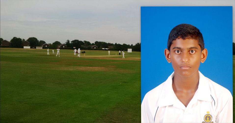 Bawantha hits fastest fifty in U13 Cricket