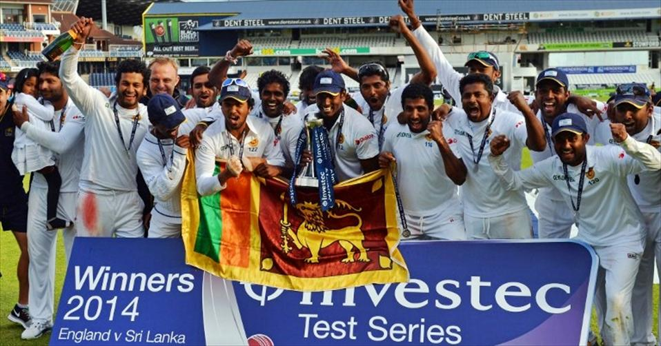 Brilliant Sri Lanka conquer England 'Test'