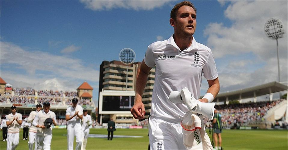 Broad routs the Aussies for 60