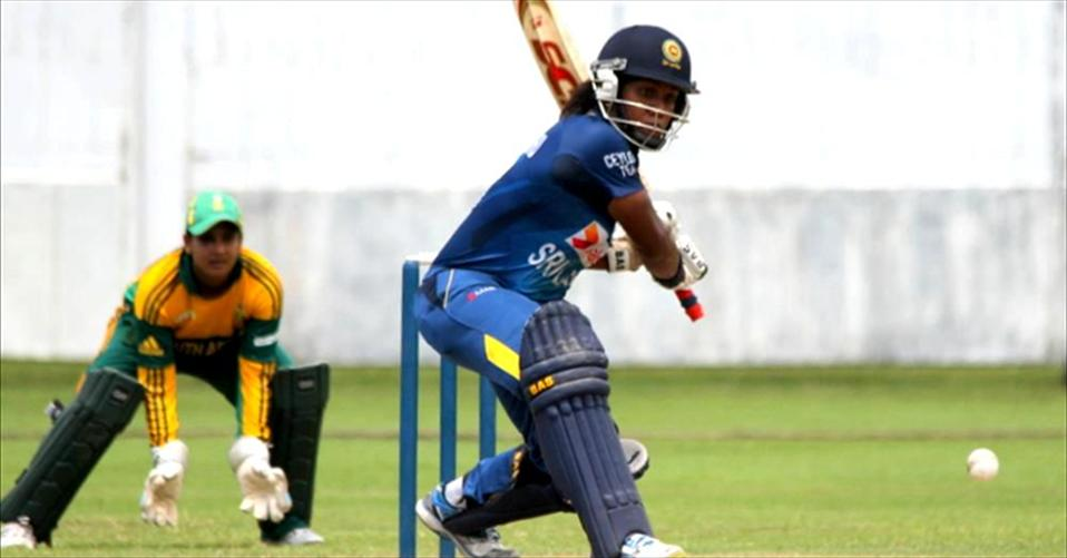 Chamari scores a ton in rain marred second one-dayer